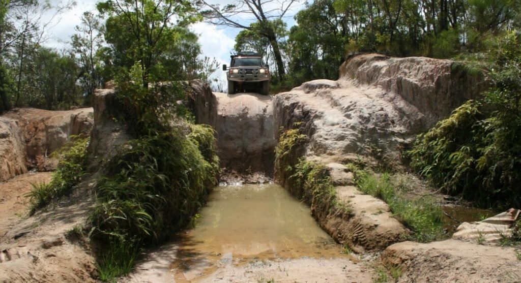 4wd drive and water